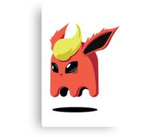 Flareon Ghost Canvas Print