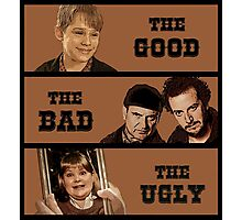 Home Alone T Shirt - The Good The Bad and The Ugly Photographic Print
