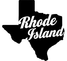 Texas Island Photographic Print