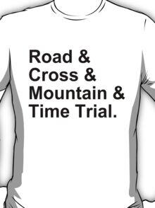 Bicycling Styles T-Shirt