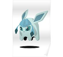 Glaceon Ghost Poster