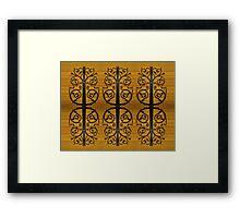 Decorative Panel Framed Print