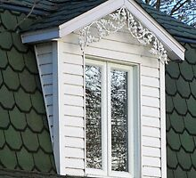 Window in the Trees by Sandra Fortier