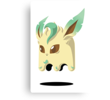 Leafeon Ghost Canvas Print
