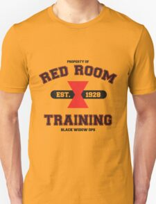 Red Room Training- Black T-Shirt