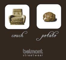 couch / potato (dark) by Belmont Streetwear