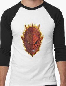 Fire and Death Men's Baseball ¾ T-Shirt