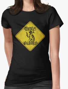 Nisha Badass Crossing (Worn Sign) T-Shirt