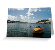 Bonair Bay  Greeting Card