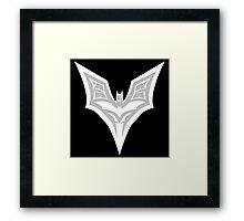 Support the bat! Framed Print