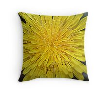 Early Spring in Yellow Throw Pillow