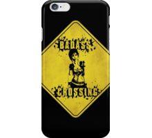 Lilith Badass Crossing (Worn Sign) iPhone Case/Skin