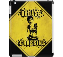 Lilith Badass Crossing (Worn Sign) iPad Case/Skin