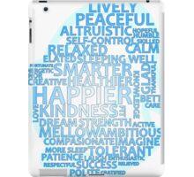 Inspirational Typography Penguin iPad Case/Skin