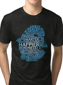 Inspirational Typography Penguin Tri-blend T-Shirt