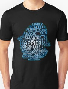 Inspirational Typography Penguin Unisex T-Shirt