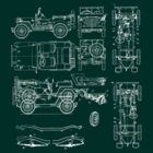 Jeep Blueprint by Stuart Stolzenberg