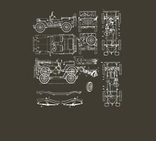 Jeep Blueprint T-Shirt