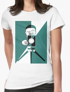 Deco style  photographer Womens Fitted T-Shirt