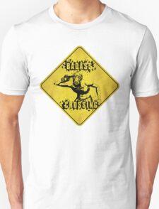 Badass Crossing (Worn Sign) T-Shirt