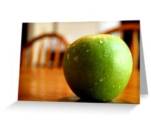 Circumference Greeting Card