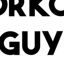 WORKOUT GUY Sticker