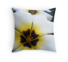 Stacked Flowers Throw Pillow