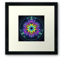 'Lifecircle Bloom' Framed Print