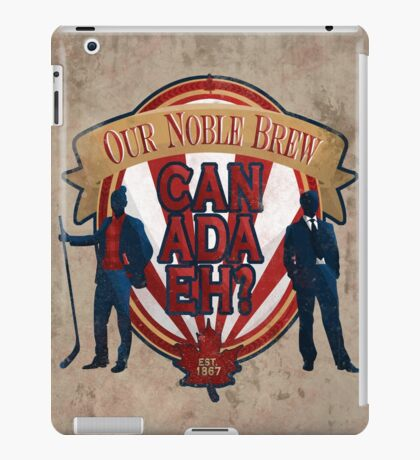 Canadian Noble Brew Eh! iPad Case/Skin