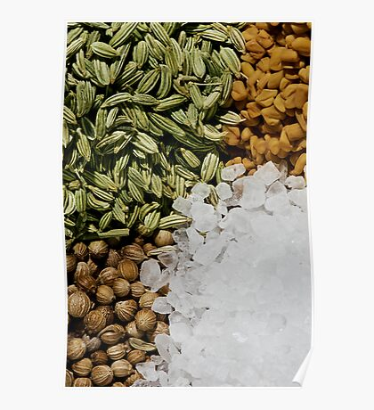 Mix of Spices Poster