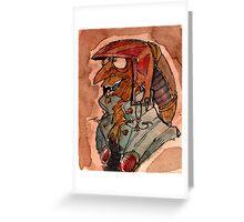 Lizard Goblin Greeting Card