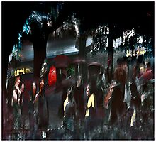 A Night At The Delacorte Photographic Print