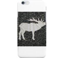 Knitted Elk Design iPhone Case/Skin