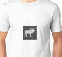 Knitted Elk Design Unisex T-Shirt