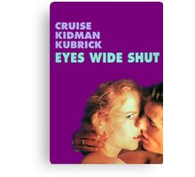 Eyes Wide Shut Canvas Print