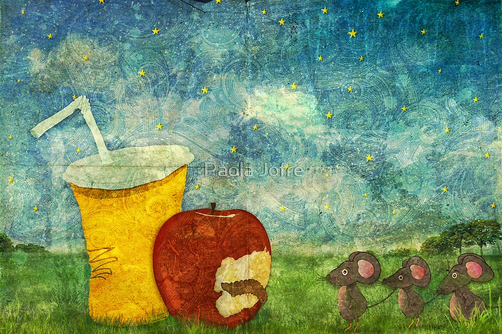 The Mice and The Apple by Paola Jofre