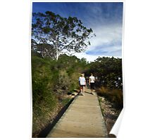 Merimbula Boardwalk Poster