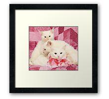 The White Family Framed Print