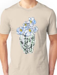 Messy Flowers Unisex T-Shirt