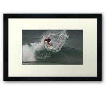 Junior Surfing Titles, NSW - Werrie Beach #7 Framed Print