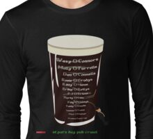 St Pats Pub Crawl Long Sleeve T-Shirt