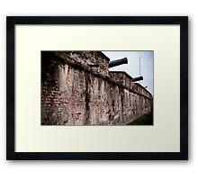Fort Cornwalis, Georgetown, Penang Framed Print
