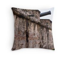 Fort Cornwalis, Georgetown, Penang Throw Pillow
