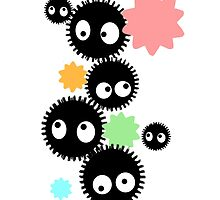 Soot Sprites by MomoRocket