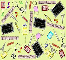 Nurse Tools Art II by Gail Gabel, LLC