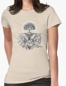 Stars are nature's factories Womens Fitted T-Shirt