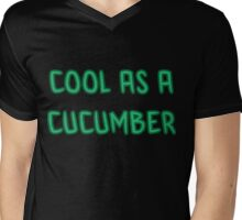 cucumber Mens V-Neck T-Shirt