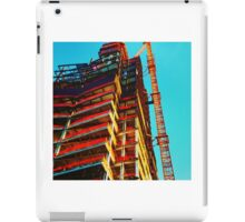 building & sky iPad Case/Skin