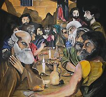 The last supper by Robert Henry Bugeja