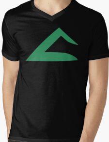 Ash Ketchum Kanto Emblem Mens V-Neck T-Shirt